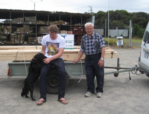 Win Win for Men's Shed Portland and Whiteheads Timber Sales